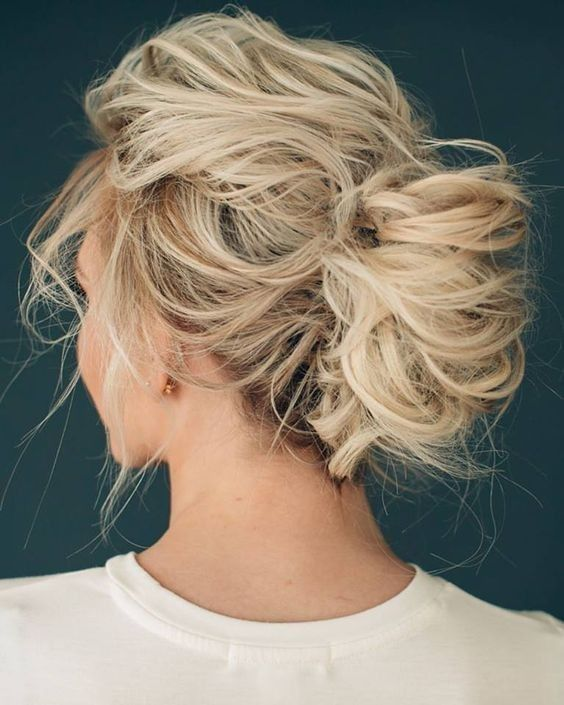 30 Trendy Messy Updos for Long Hair