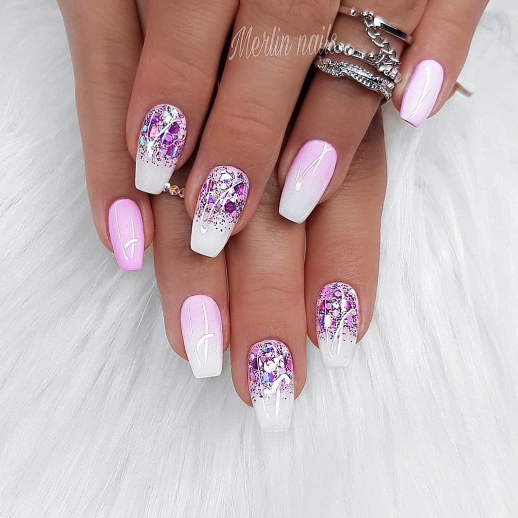 40 Stylish Short Coffin Nail Art Designs