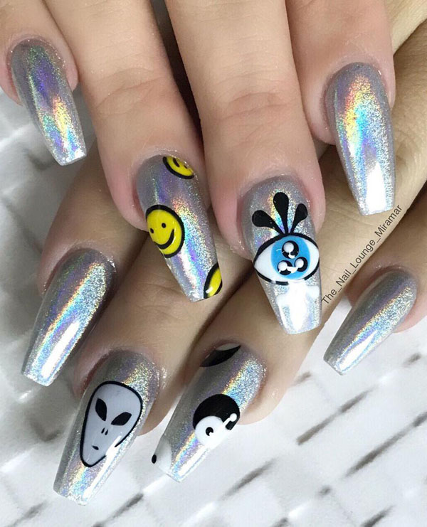 50 Stunning Halloween Nail Art Designs 2019