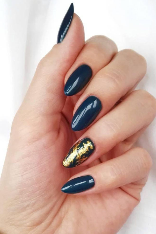 33 Outstanding Oval Nail Art Designs
