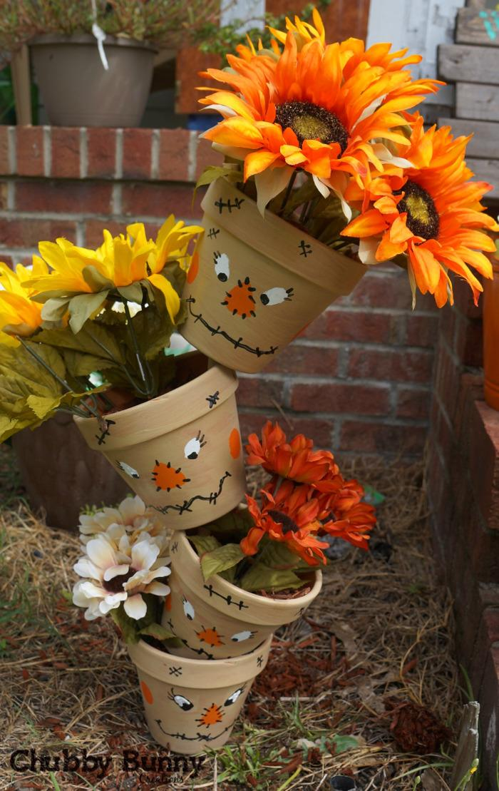 20 Creative Clay Pot Halloween Crafts  You Will Love