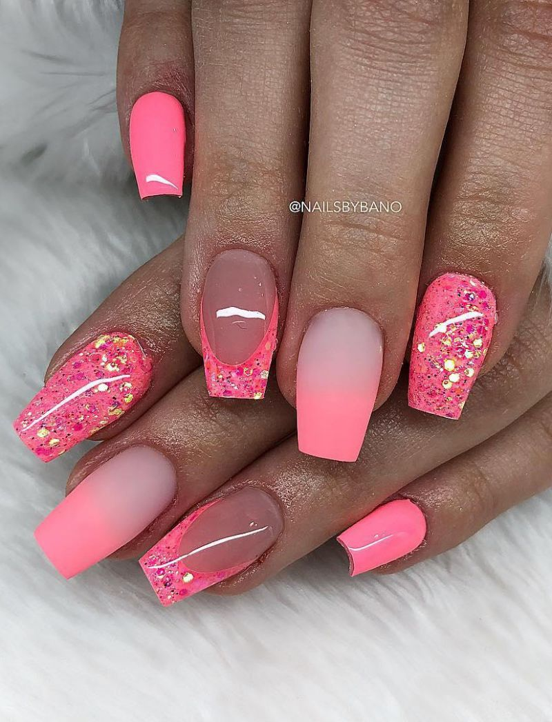 30 Trendy Pink Nail Art Designs You Have to See