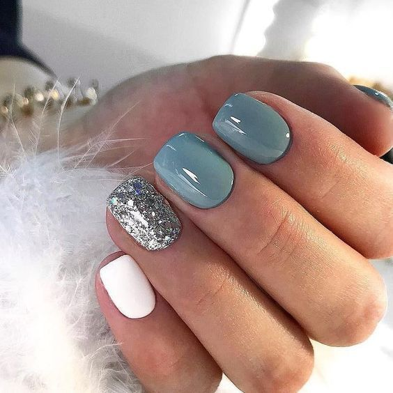50 Gel Nail Design Ideas Perfect for Winter 2019