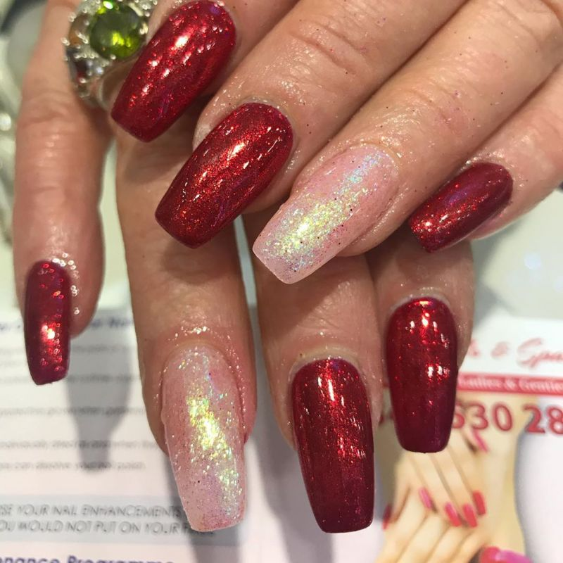 60 Classic Chrome Nail Art Designs For Winter