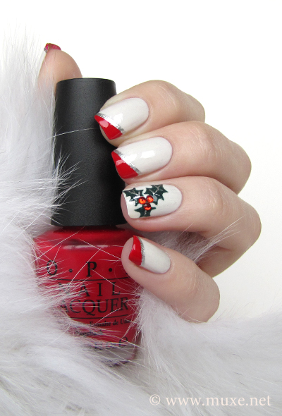 55 Gorgeous Christmas Nails With Mistletoe To Celebrate Holiday