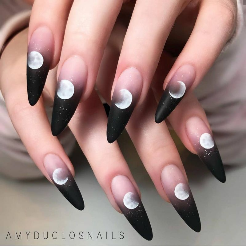 51 Trendy Moon Nail Art Designs You Need To Try