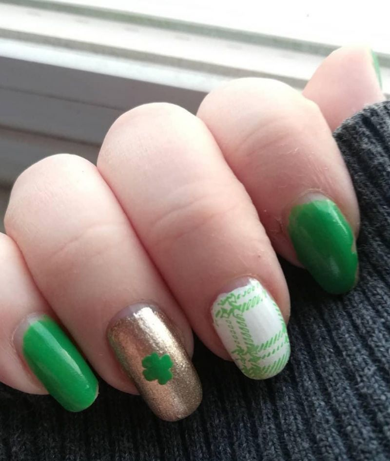 55 Pretty St. Patrick's Day Nails Make You Happy