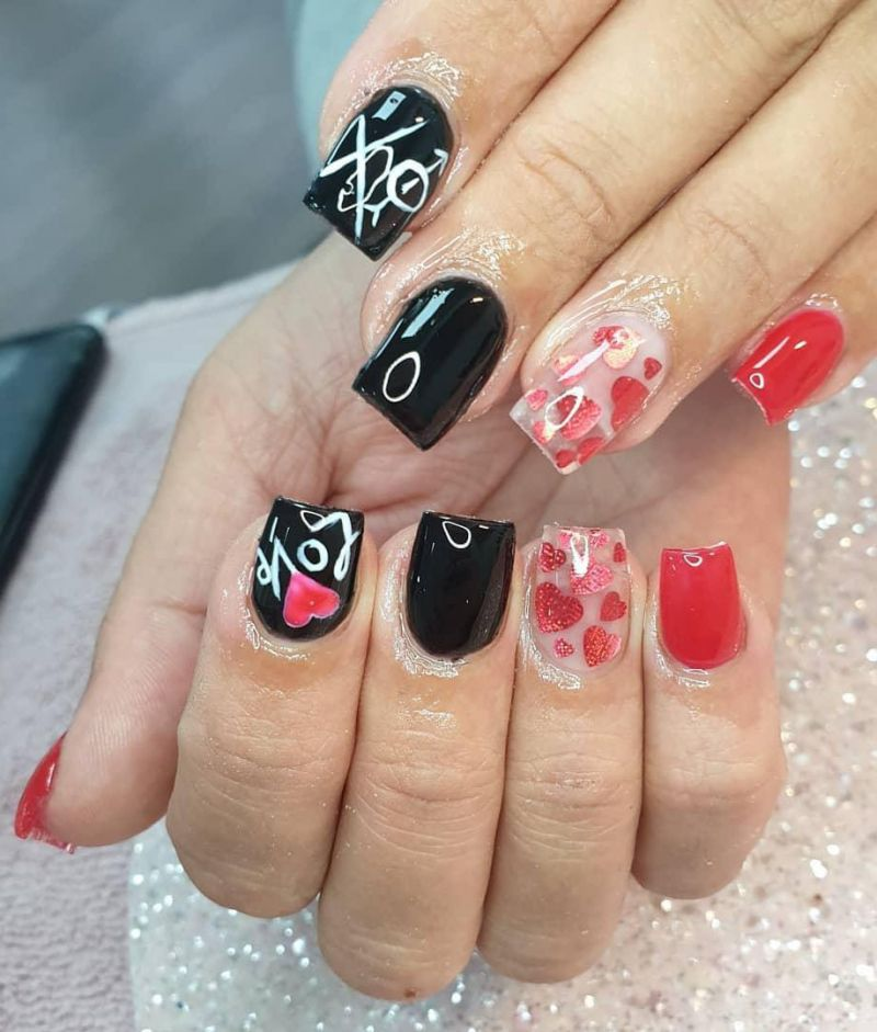 50 Gorgeous Valentine's Day Nail Art Designs Just For You 2020