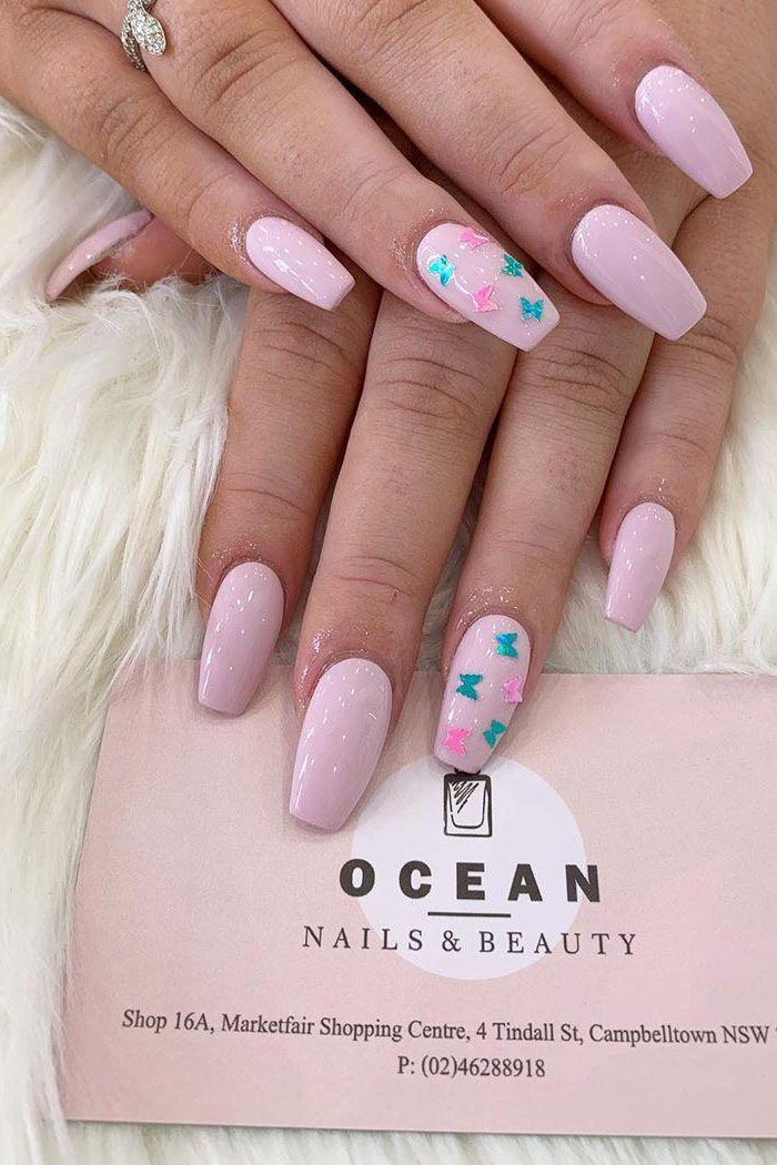 55 Trendy Spring Acrylic Nails You Will Love