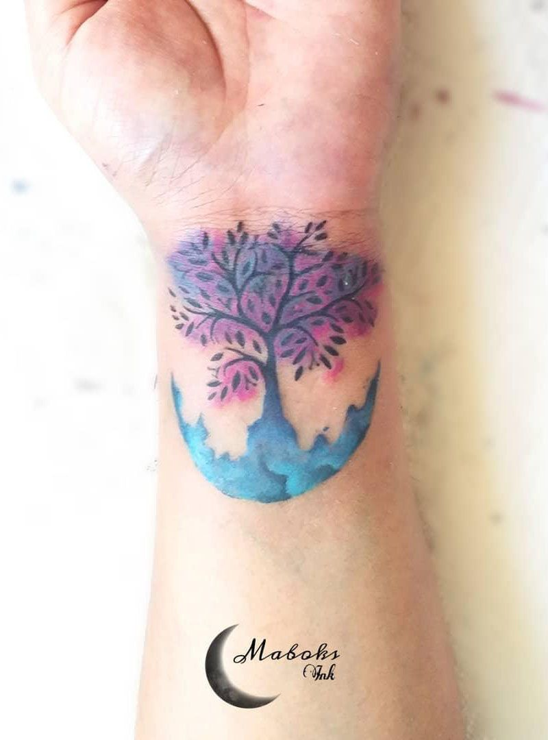30 Pretty Tree of Life Tattoos Tell Us to Be Kind to Life