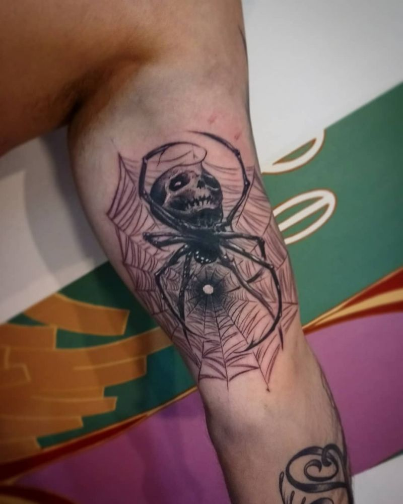 30 Great Spider Tattoos You Want to Try