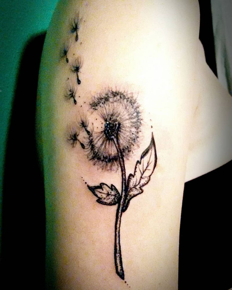30 Pretty Dandelion Tattoos You Will Love to Try