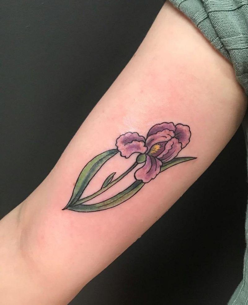 30 Perfect Iris Tattoos Make You Attractive