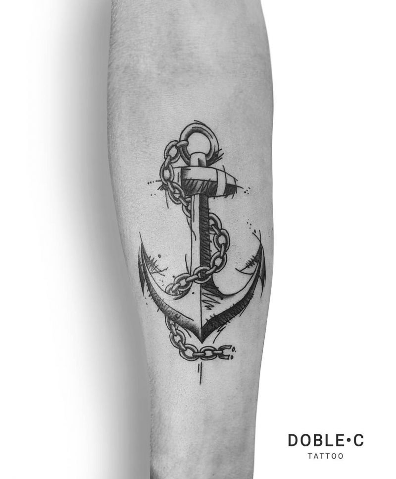 30 Perfect Anchor Tattoos Make You Not Confused