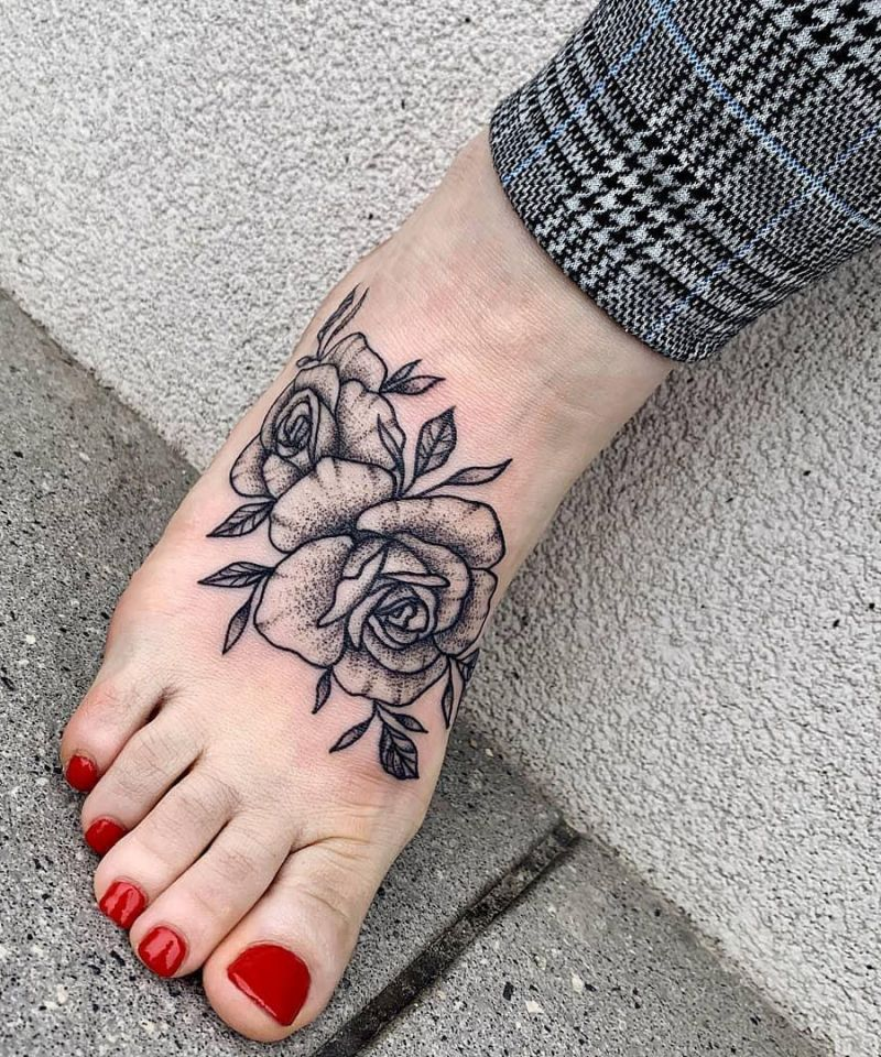 Pretty Foot Tattoos to Show Off
