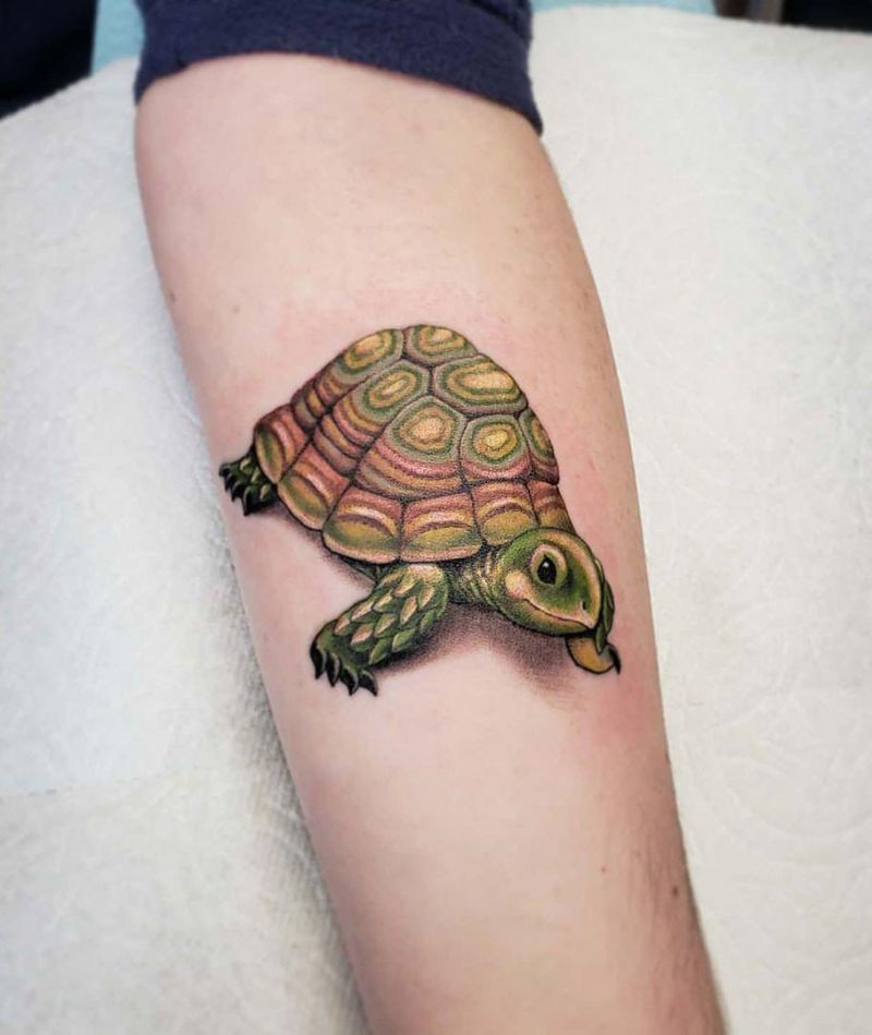 Pretty Tortoise Tattoos Hope to Bring You Luck