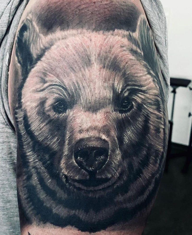 Fierce Bear Tattoos You Will Like to Try