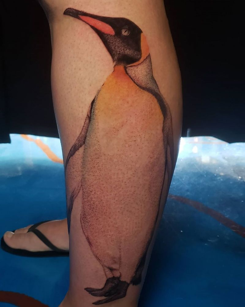 Cute Penguin Tattoo Designs for You to Enjoy