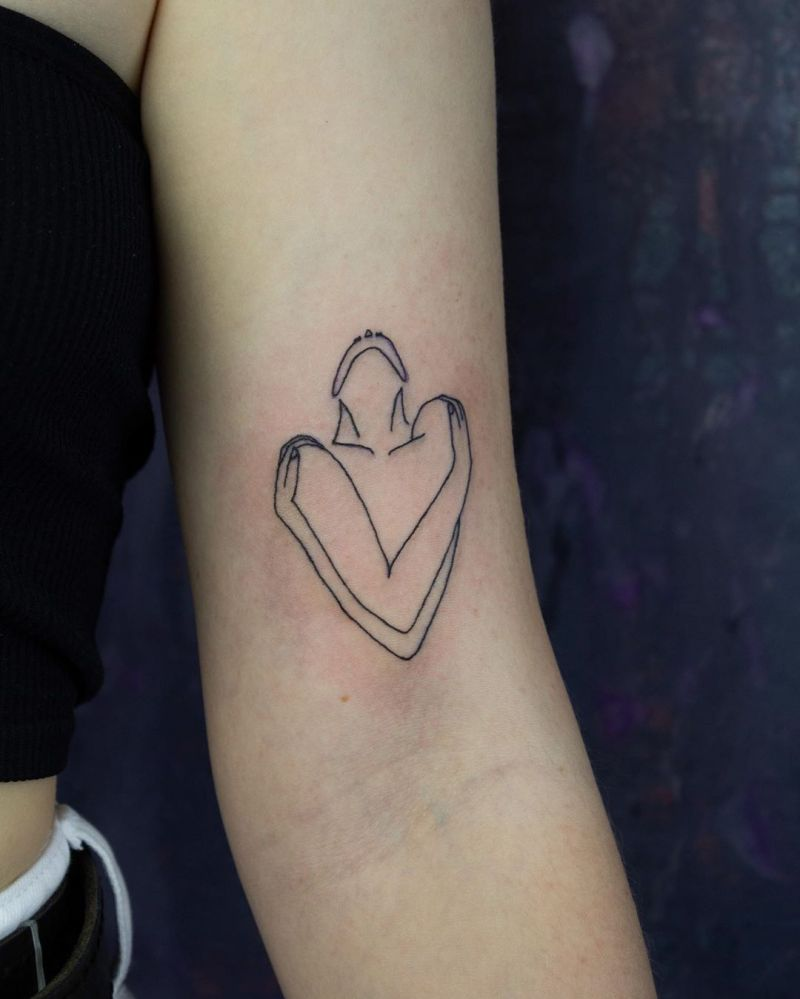 Pretty Love Tattoos to Inspire You