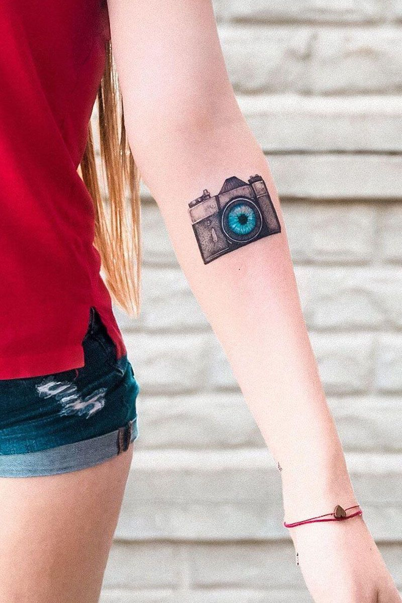 30 Creative Camera Tattoos You Will Love