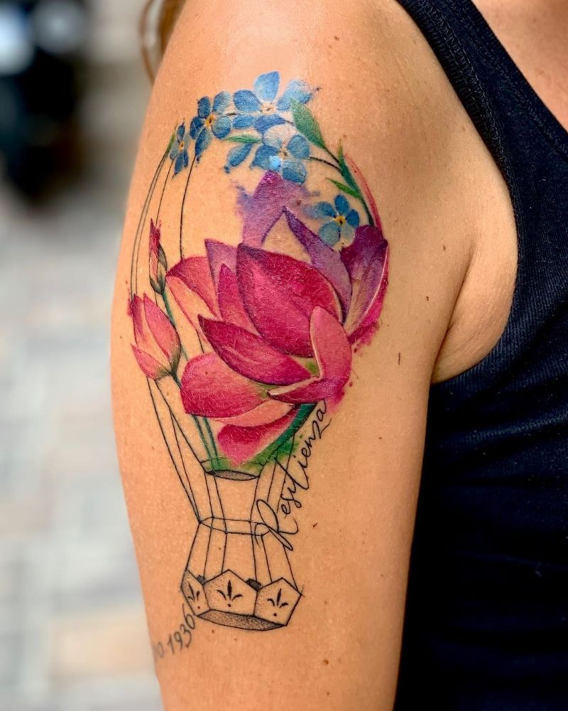 30 Pretty Forget Me Not Tattoos for Your Inspiration