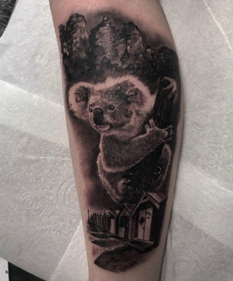 30 Cute Koala Tattoos You Will Love