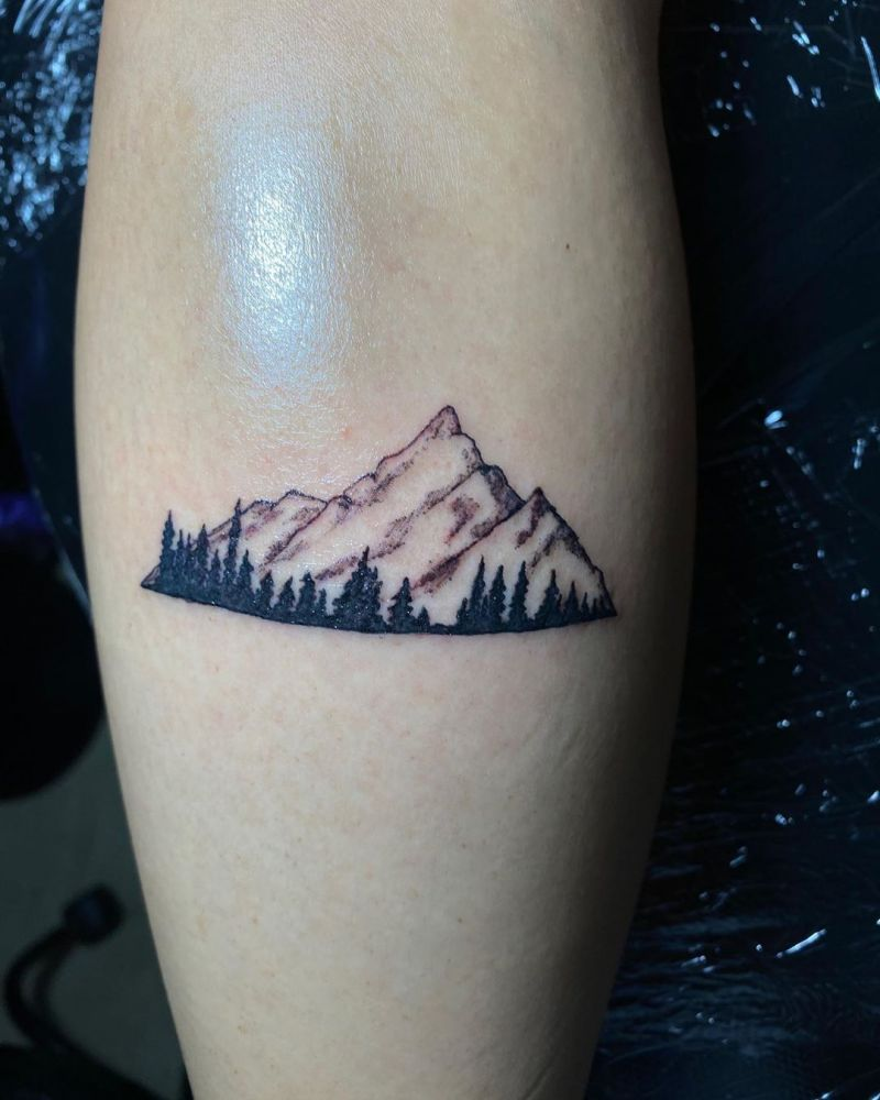 30 Beautiful Landscape Tattoos You Will Love