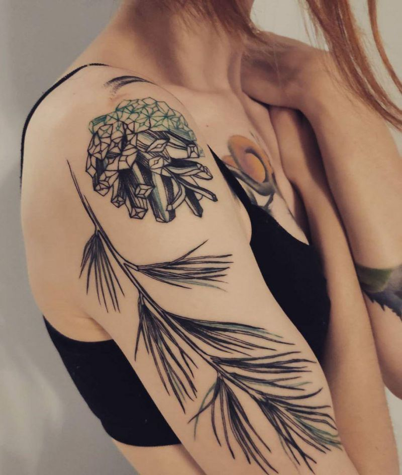 30 Pretty Pinecone Tattoos to Inspire You