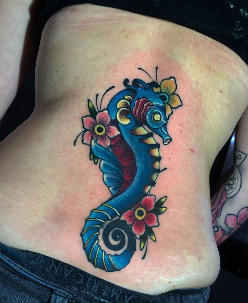 30 Stunning Seahorse Tattoos for Your Inspiration