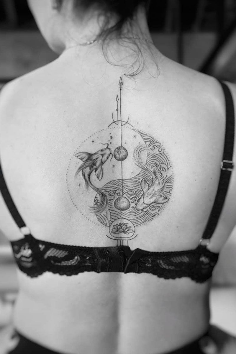 30 Amazing Yin Yang Tattoos Designs You Must See