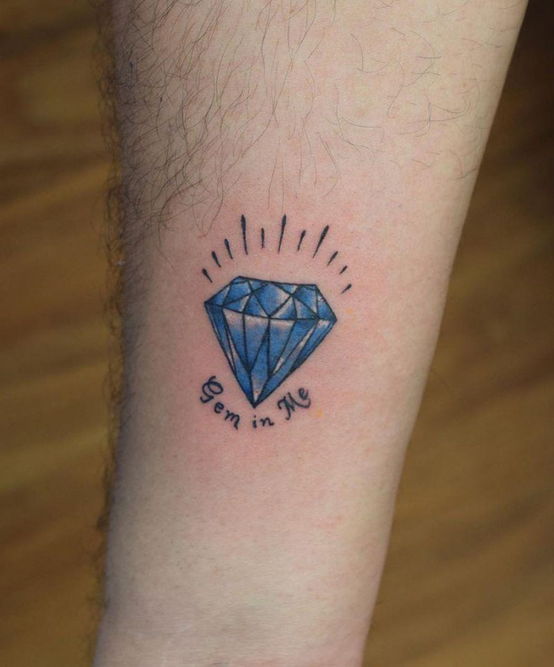 30 Eye Catching Diamond Tattoos Make You the Focus