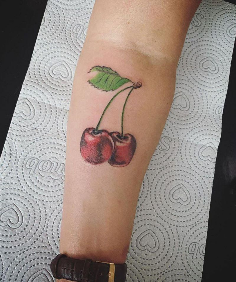 30 Pretty Cherry Tattoos for Women You Will Love