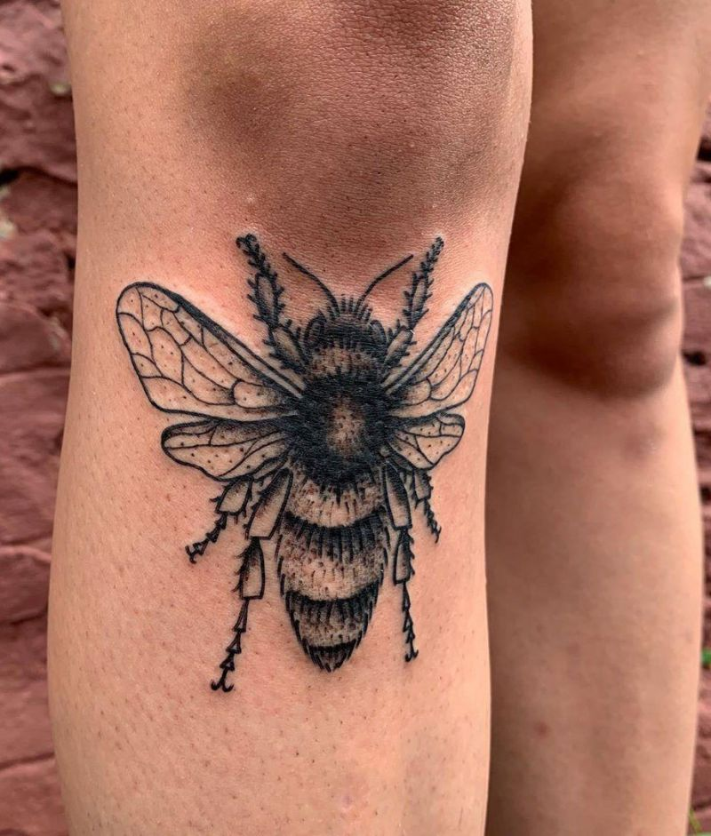30 Pretty Bee Tattoos Make You Love Work