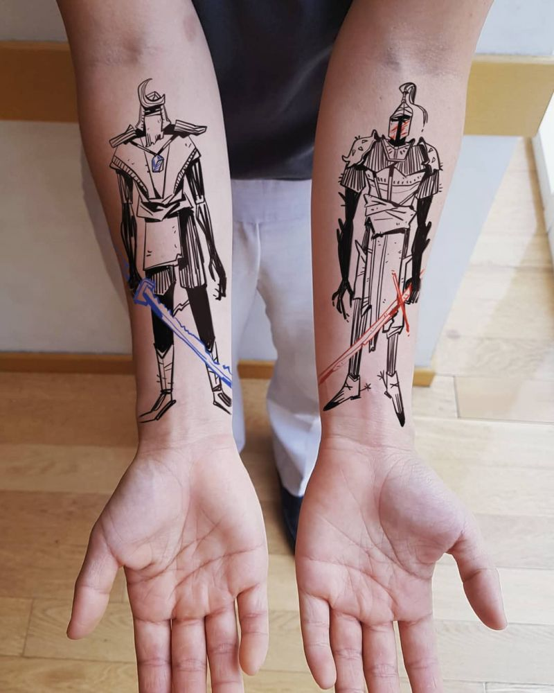 30 Pretty Armor Tattoos Show Your Personality