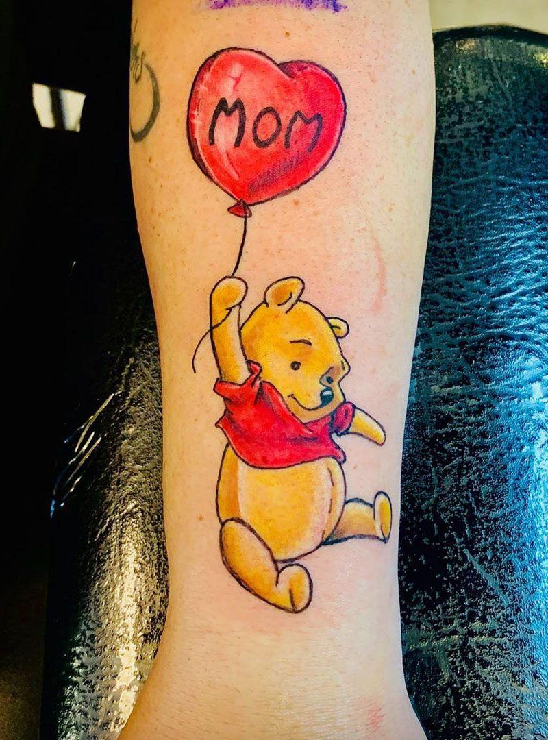 30 Pretty Balloon Tattoos to Inspire You