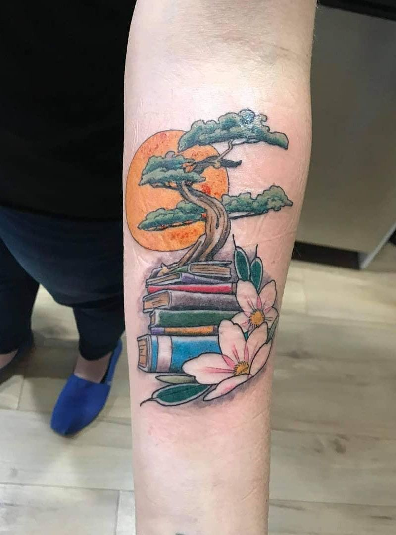 30 Pretty Book Tattoos Inspire You to Read