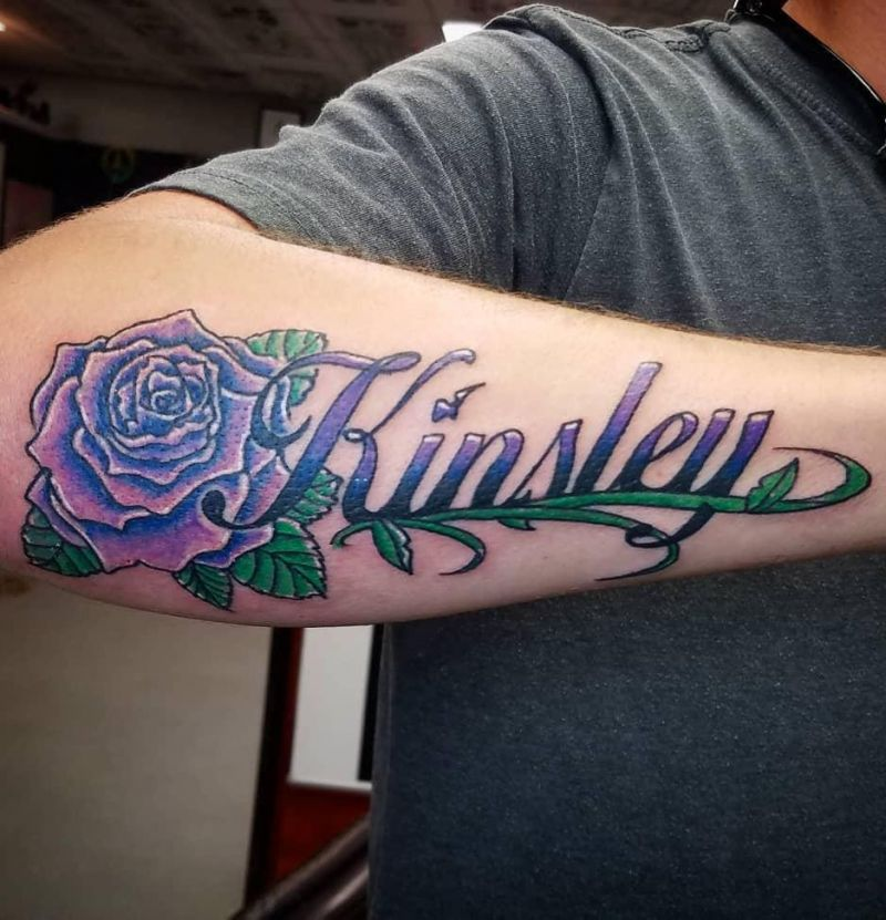 30 Pretty Name Tattoos Enhance Your Personality