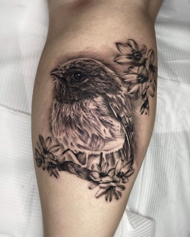 30 Pretty Robin Tattoos You Must Try