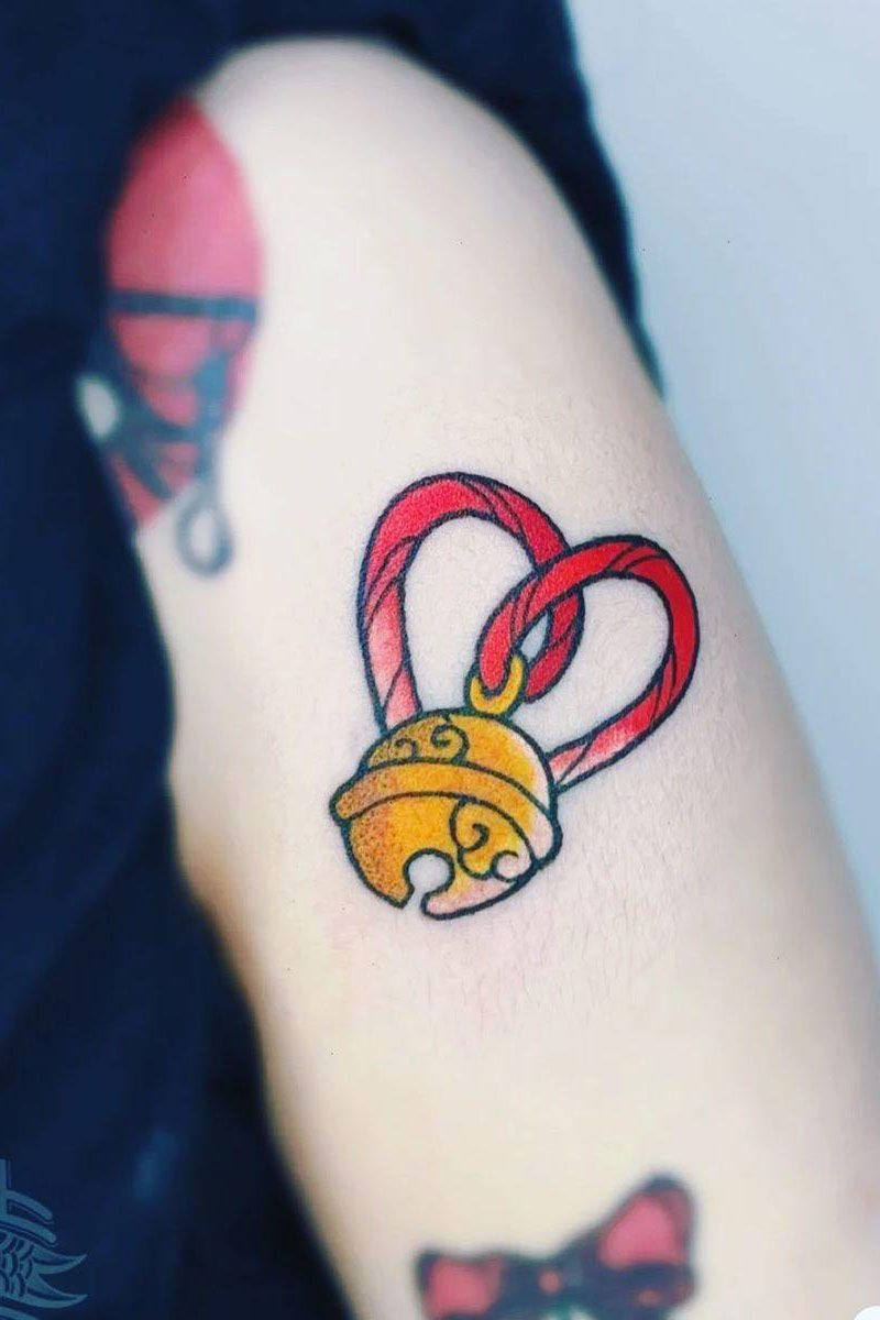 30 Pretty Bell Tattoos to Inspire You