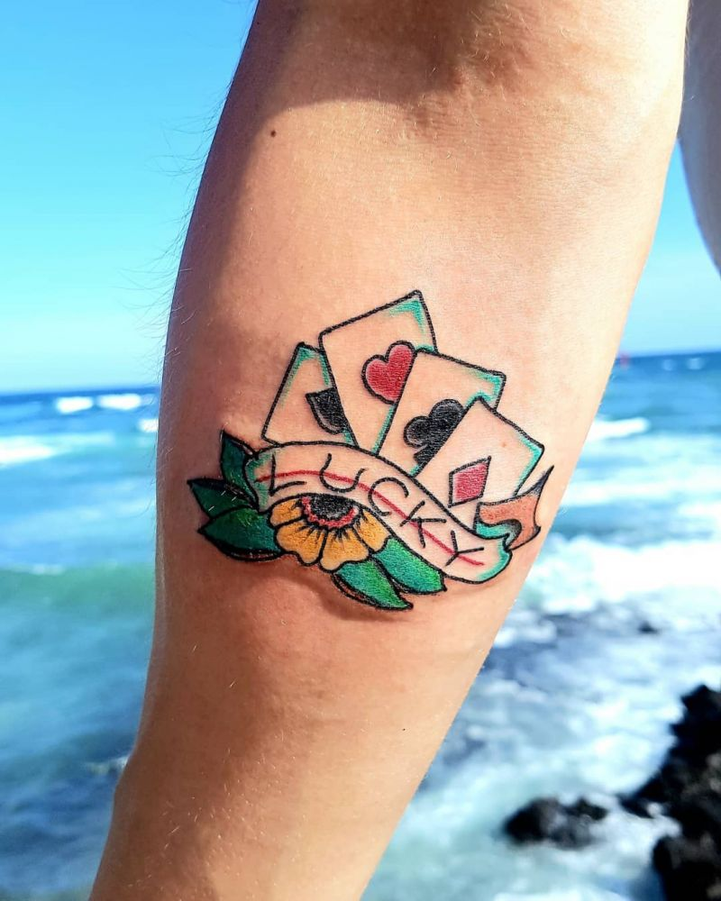 30 Creative Luck Tattoos to Inspire You