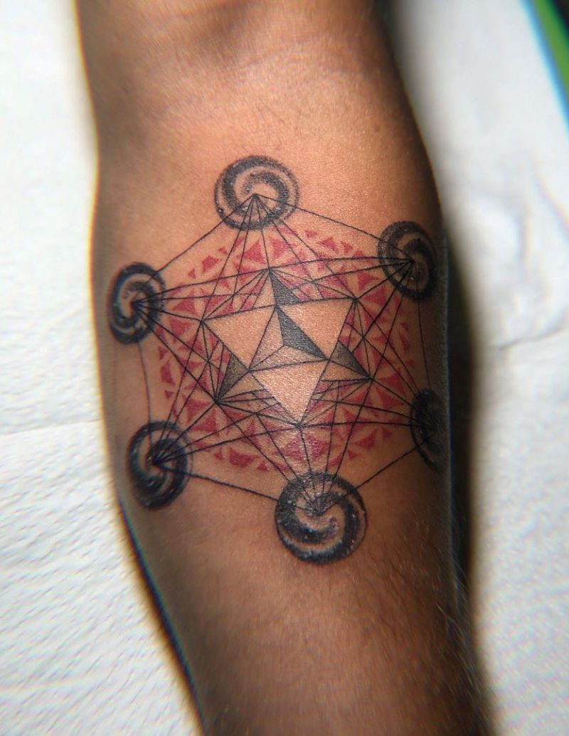 30 Perfect Metatron Tattoos Make You Attractive