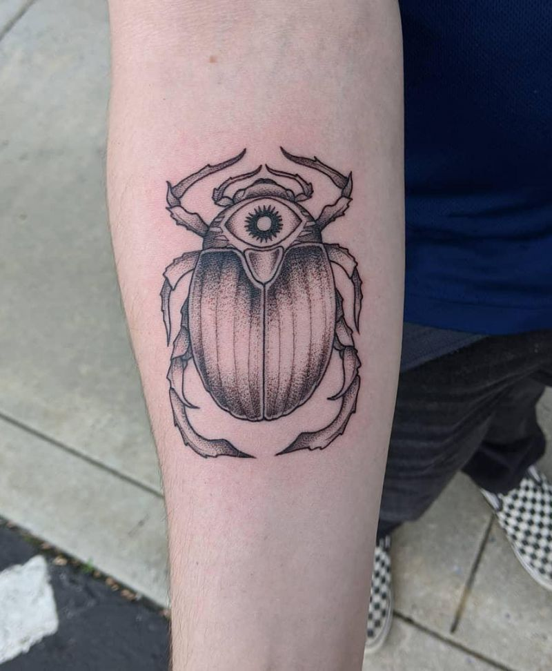 30 Pretty Beetle Tattoos You Must Try