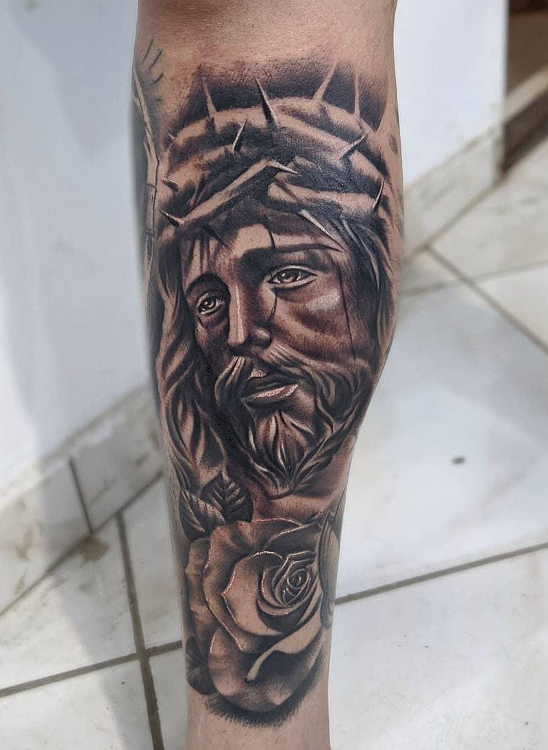 30 Perfect Jesus Tattoos to Inspire You