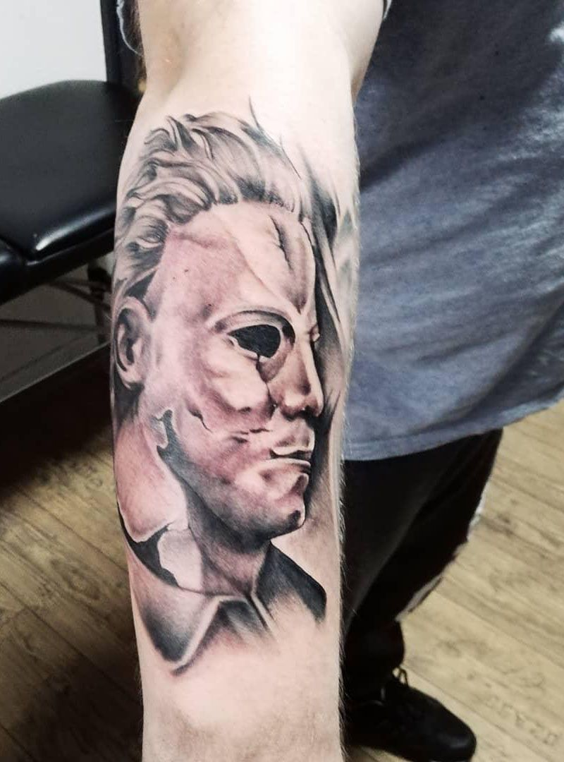 30 Perfect Michael Myers Tattoos Make You Attractive