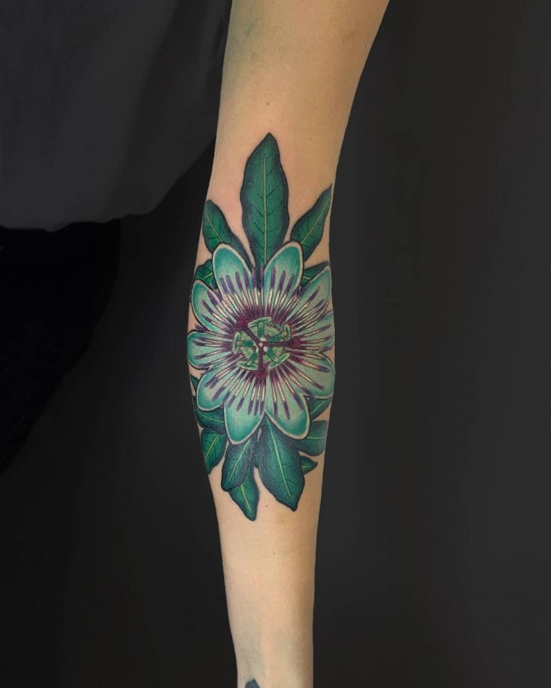 30 Pretty Passion Flower Tattoos You Must Try