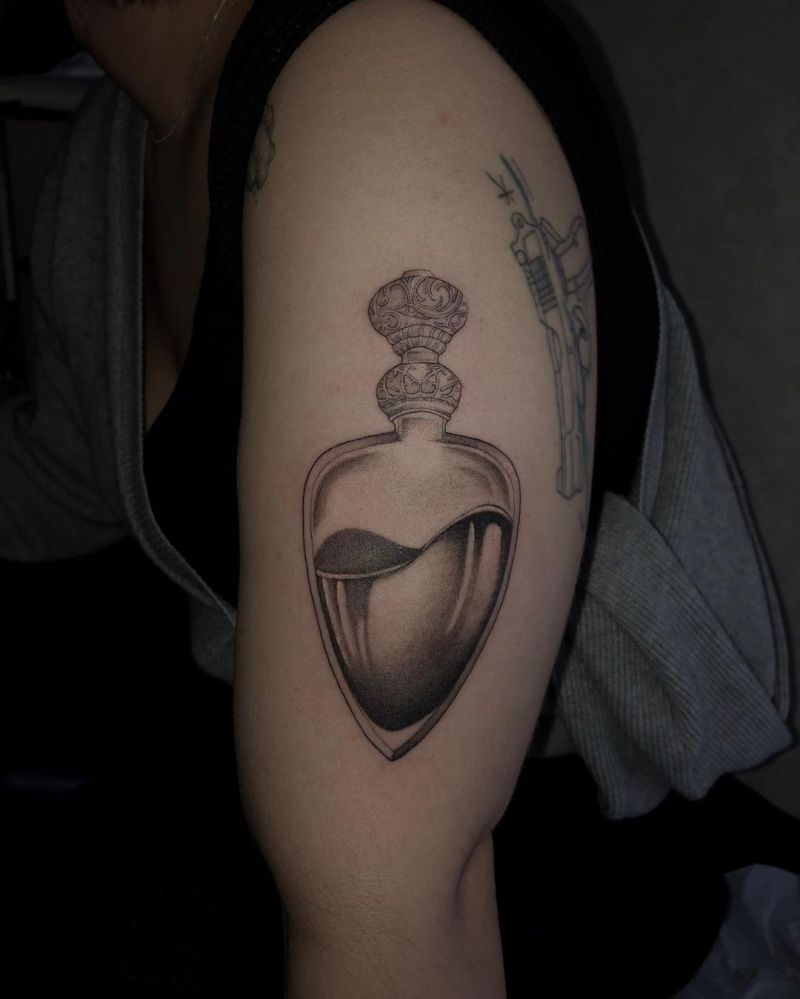 30 Perfect Potion Tattoos Make You Attractive