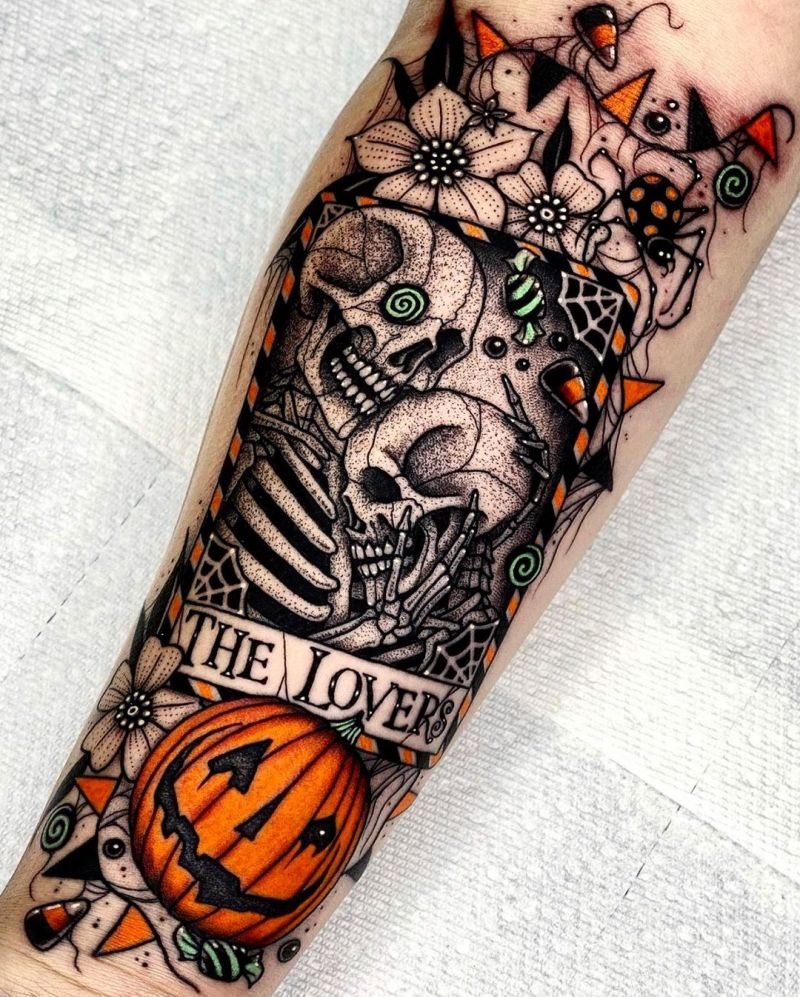 30 Pretty Pumpkin Tattoos You Will Love