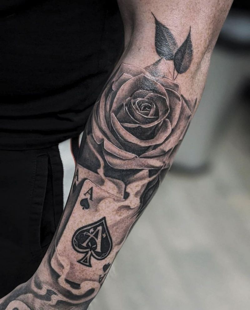 30 Pretty Ace of spades Tattoos to Inspire You