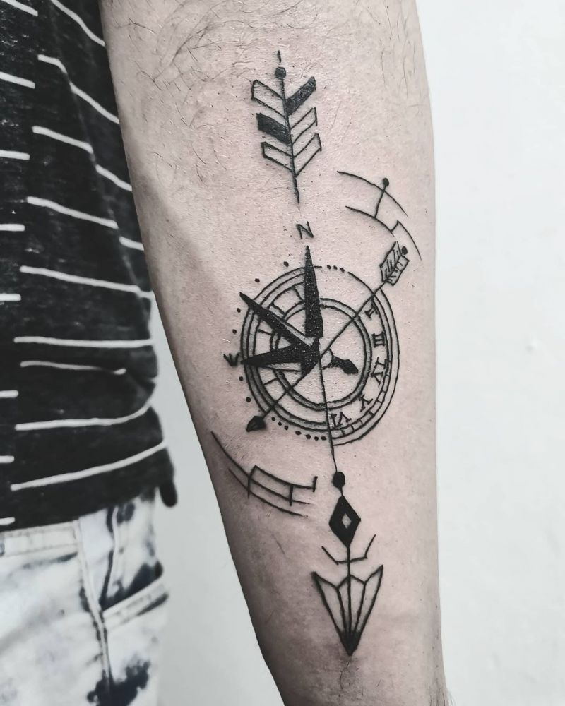 30 Pretty Arrow Tattoos Improve Your Temperament