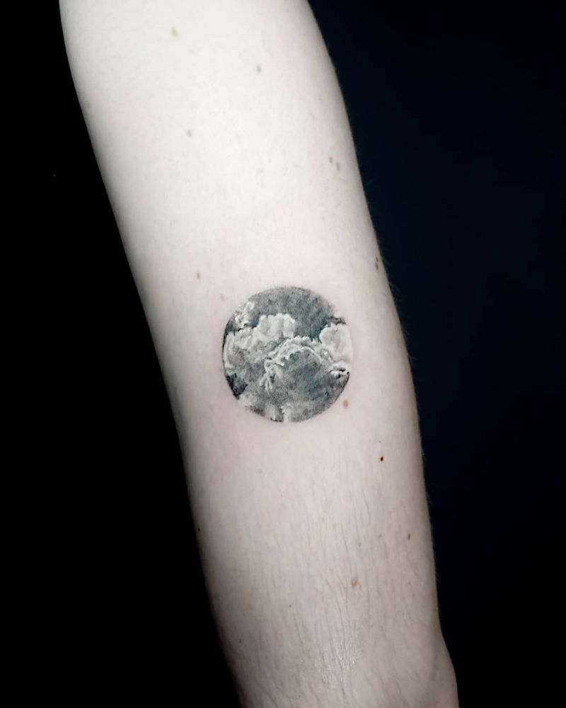 30 Pretty Circle Tattoos You Must Try